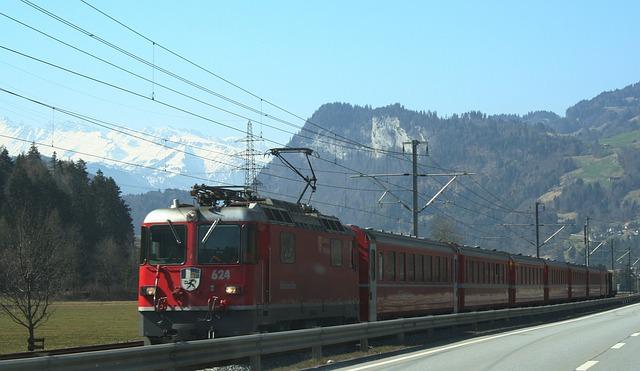 Railway, Seemed, Train, Locomotive, Transport, Traffic