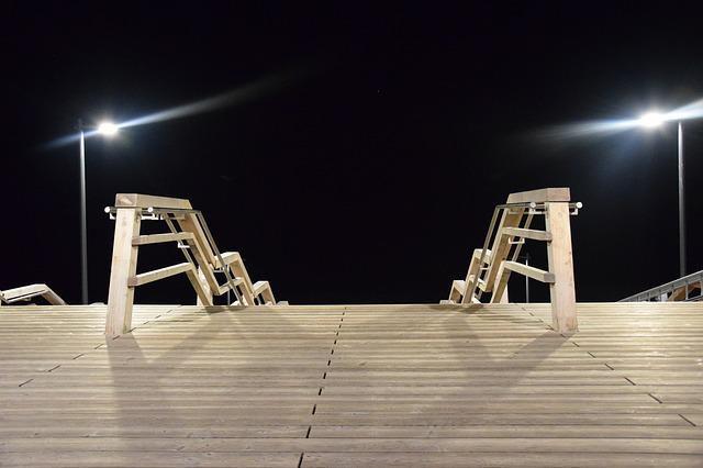 Seetreppe, Sylt, Wenningstedt, Stairs, Island, Holidays
