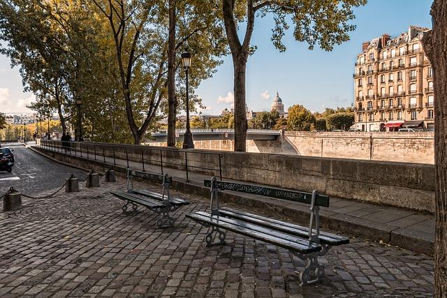 Paris, Perspective, Seine, Tourism, France, To Pantheon