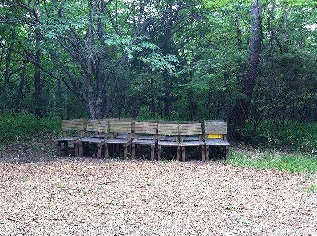Kiyosato, Seisen, Outdoor Worship, Bench