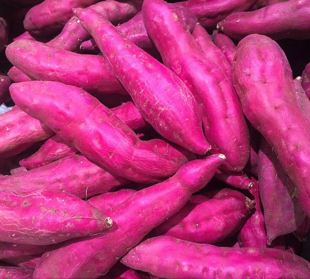 Sweet Potato, Red Purple, Vegetables, Seiyu Ltd, Living