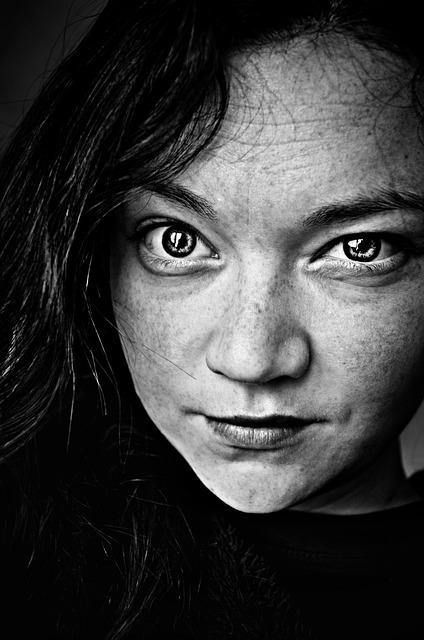 Self-portrait, Eyes, Face