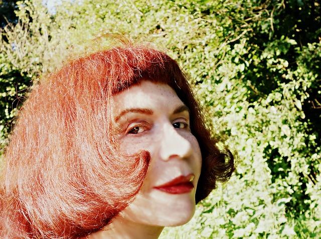 Face, Portrait, Woman Face, Redhead, Selfie
