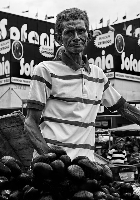 Maracaibo, Venezuela, Man, Selling Tomatoes, Vegetable