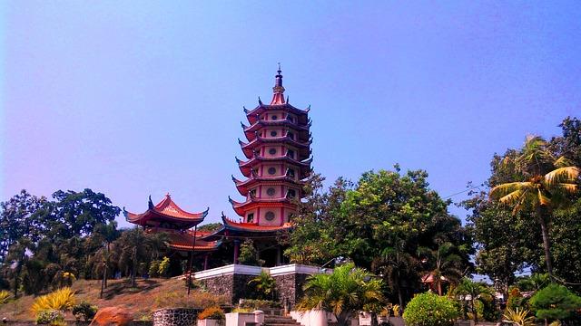 Pagoda, Chinese, Semarang, Travel