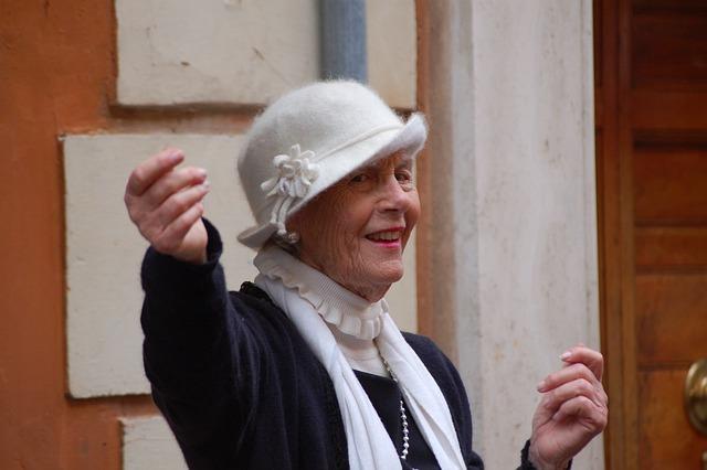 Senior, Elderly Woman, Third Age