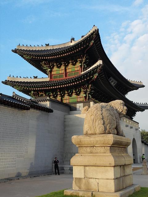Republic Of Korea, Seoul, Gwanghwamun, Gyeongbok Palace