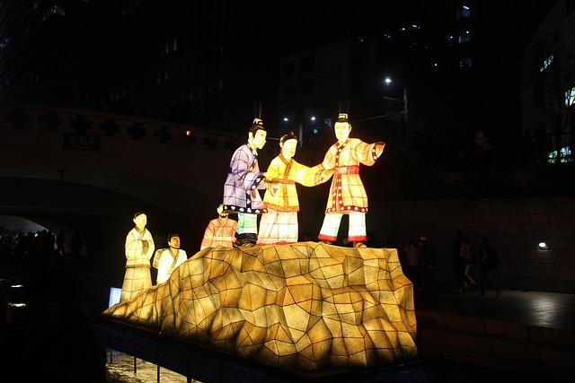 Seoul, Lantern Festival, Cheonggyecheon Stream, Lantern