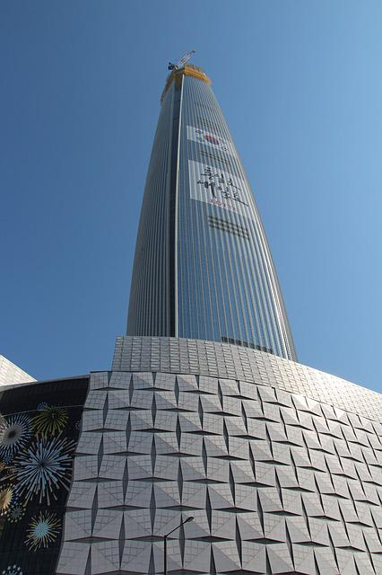 Korea, Seoul, Jamsil, Lotte Tower, 2nd Lotte World