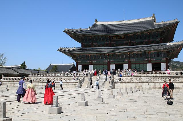 Palace, Travel, Republic Of Korea, Korea, Seoul
