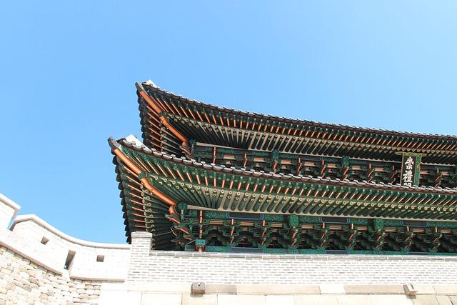Korea, Seoul, Seoul's Namdaemun Gate, Namdaemun