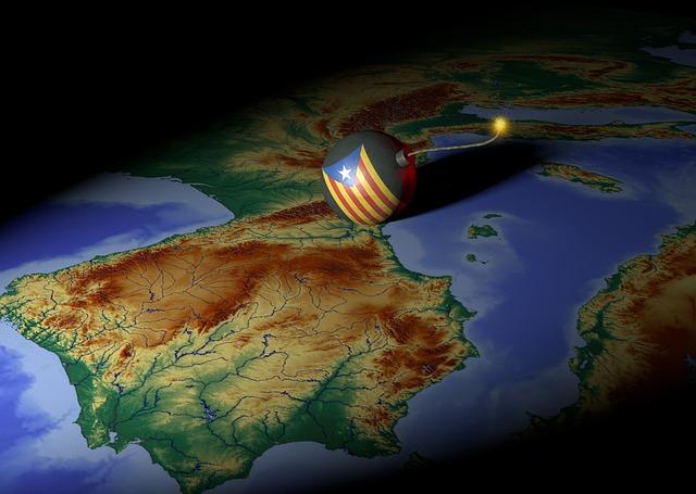 Catalonia, Europe, Bomb, Separation, Risk, Civil War