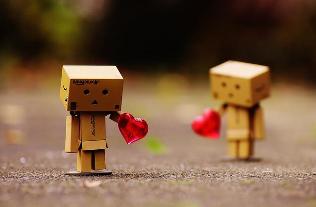 Danbo, Figures, Love, Longing, Miss, Heart, Separation