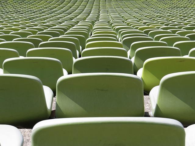 Stadium, Banks, Sequence, Munich, Olympiastadion