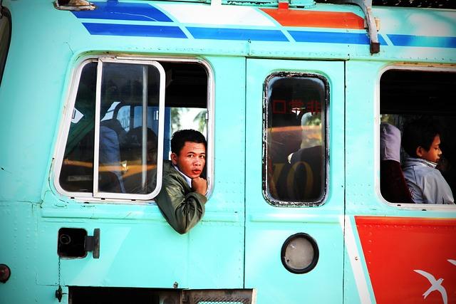 Bus Passenger, Bus, Service Bus, Inmate
