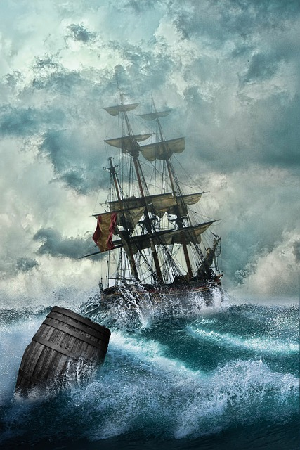 Ship, Shipwreck, Adventure, Setting, Boot, Mysticism
