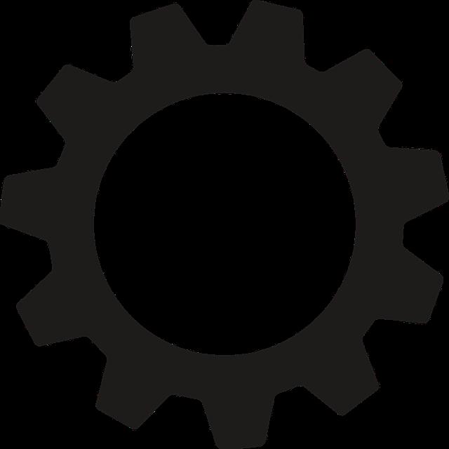 Gear, Mechanics, Settings, Icon, Transmission