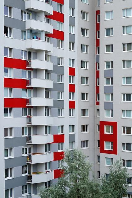 Prefab, Bytovka, House, Settlement, Windows, Balconies