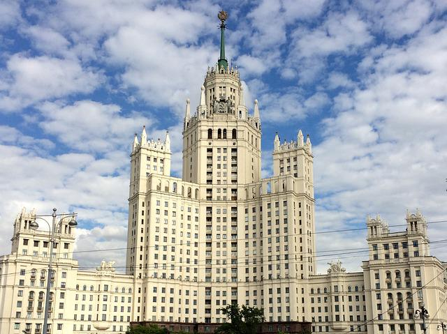 Building, Moscow, Seven Sisters, City, Russia