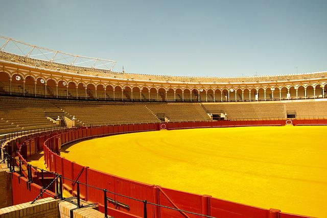 Andalusia, Arenas, Seville, Bullfight