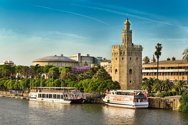 Gold Tower, Guadalquivir, Seville, Tower, Arabic