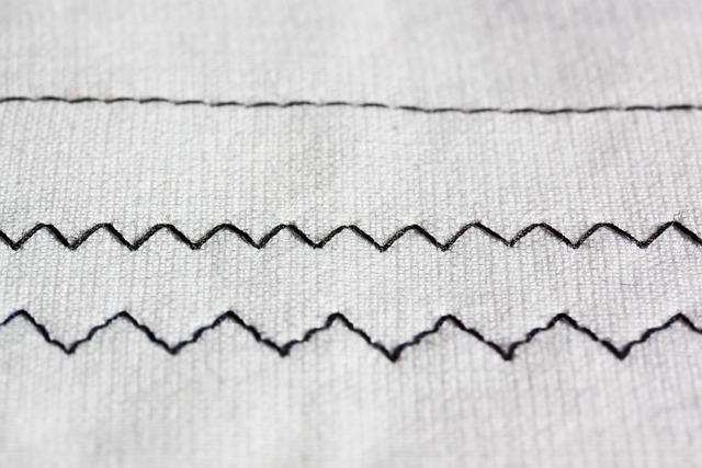 Zig Zag, Sewing Machine, Embroidery, Black, White, Sew