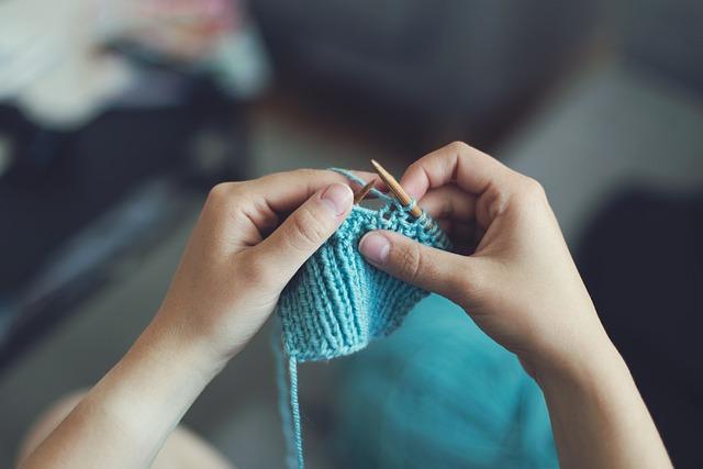 Knit, Sew, Girl, Female, Make, Produce, Create