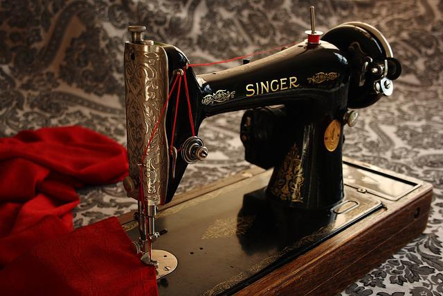 Sewing Machine, Antique, Vintage
