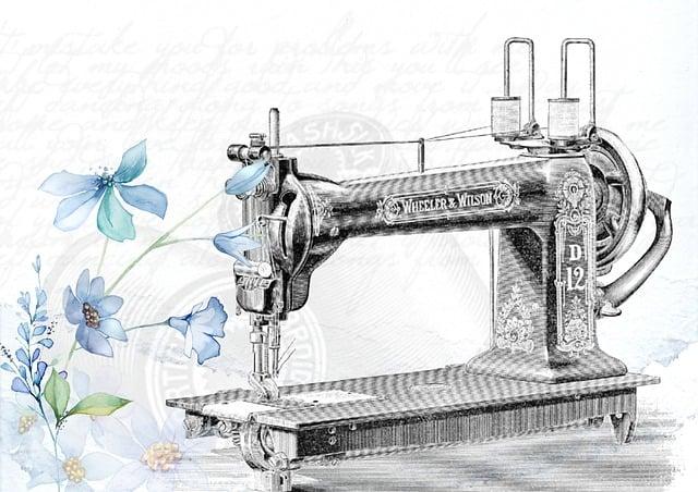 Vintage, Sewing Machine, Sew, Needle, Clothing, Fashion