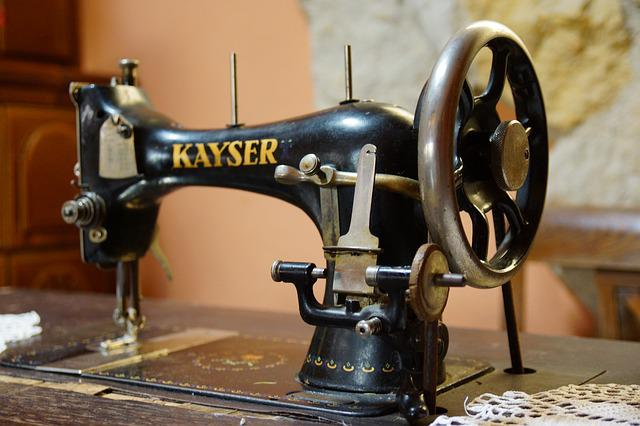 Sewing, Machine, Sewing Machine, Old