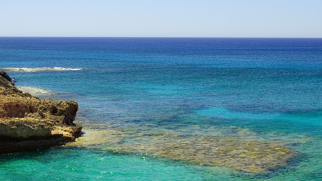 Blue, Shades, Sea, Infinity, Horizon, Summer, Landscape