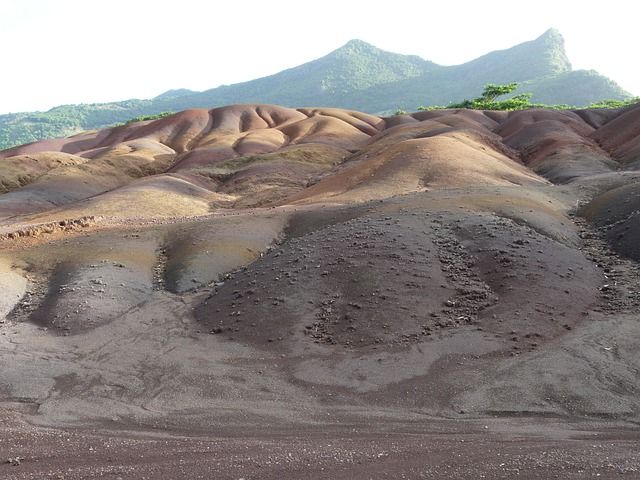 Land Of Seven Colors, Chamarel, Mauritius, Shades
