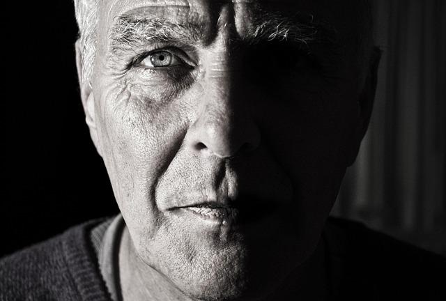 Face, Portrait, Man, Male, Head, Old, Phantom, Shadow