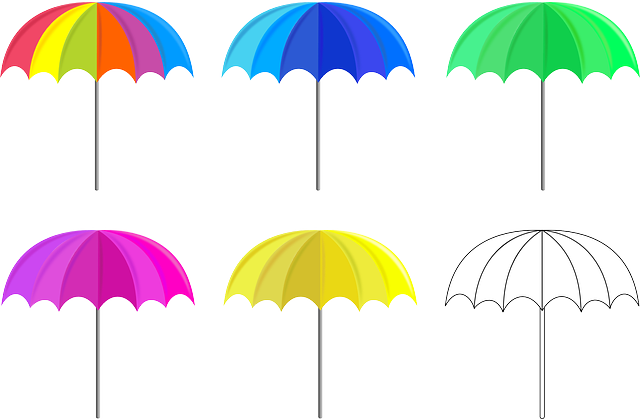 Umbrella, Umbrellas, Satikka, Shadow