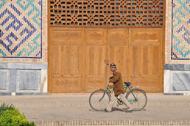 Uzbekistan, Bike, Shakrisabz