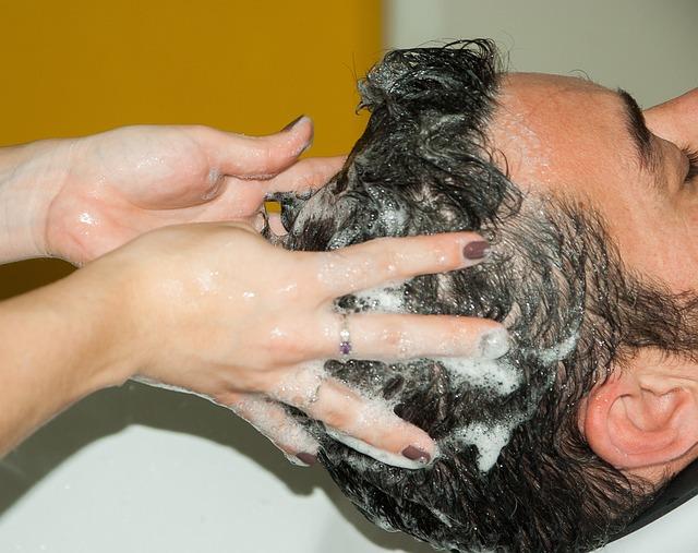 Hairdresser, Shampoo, Hairstyle, Foam