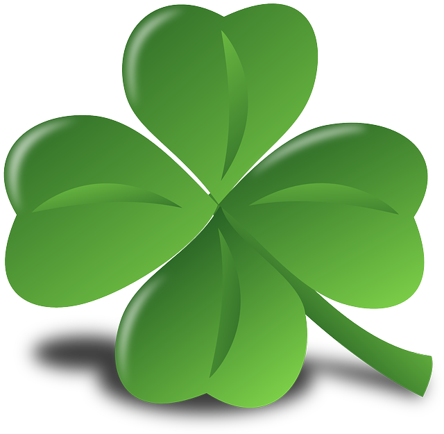 Four-leaf Clover, Clover, Luck, Lucky, Shamrock