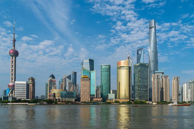 Shanghai, Bund, China, City, Architecture, Pudong