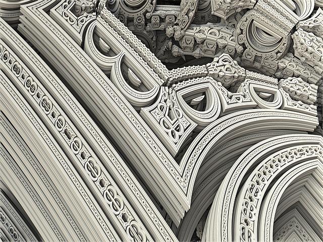 Arches, Fractal, Chaos, Church, Arch, Curve, Shape