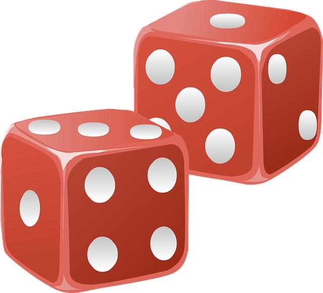 Dice, Red, Cubes, Die, Shapes, Two, Objects, Games