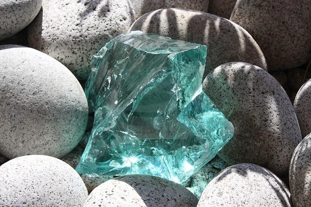 Shard Of Glass, Shard, Crystal, Stones, Ornament
