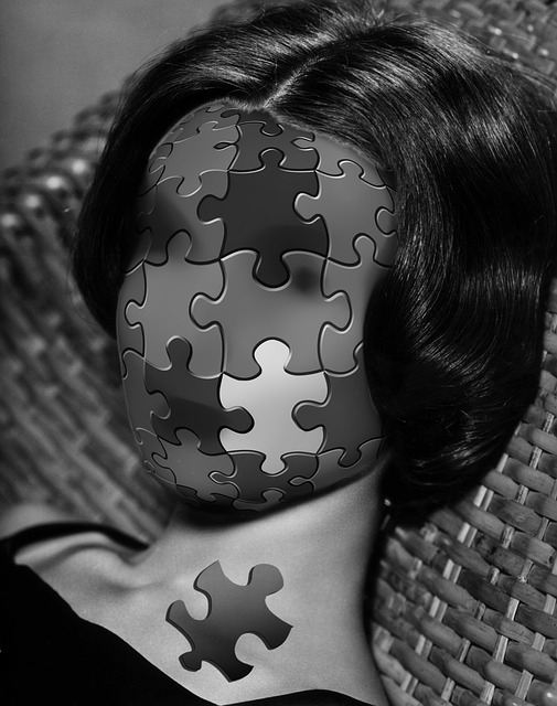 Puzzle, Incomplete, Face, Woman, Absurd, Share
