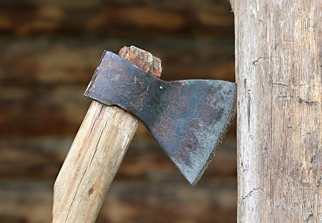 Axe, Tool, Hack, Firewood, Construction, Sharp, Ax