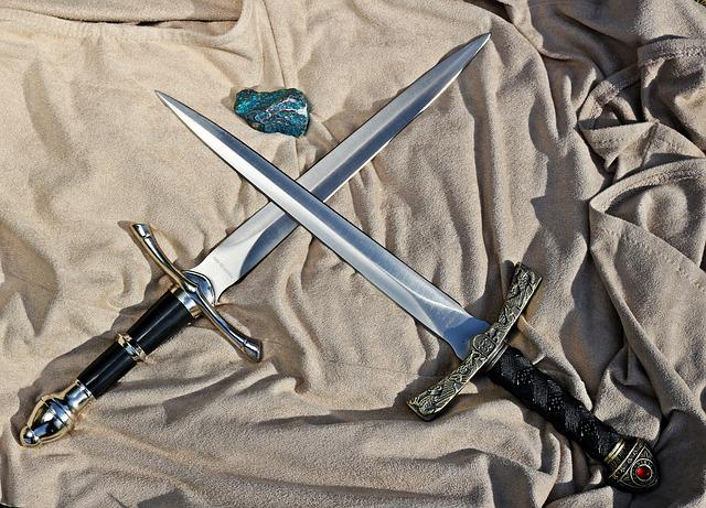 Knife, Weapon, Middle Ages, Blade, Sharp, Blacksmithing