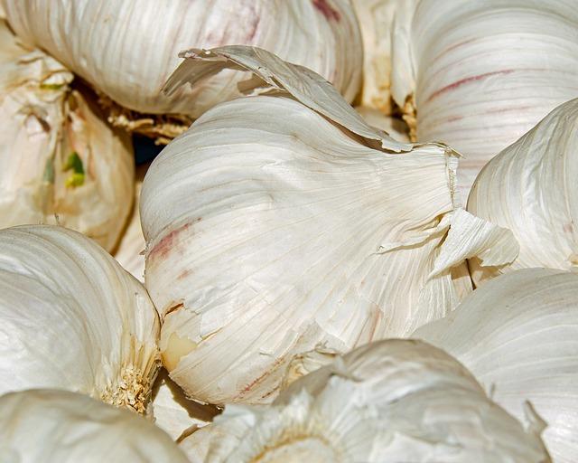 Garlic, Tubers, Bio, Frisch, Sharp, Spicy, Flavors