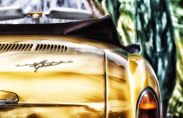 Karmann Ghia, Car, Auto, Automobile, Travel, Sharp, Hdr
