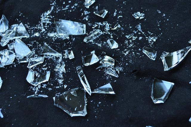 Glass, Broken, Shattered, Broken Glass, Shattered Glass