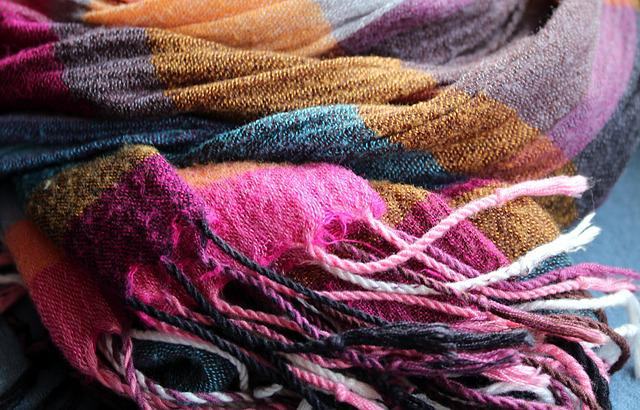 Scarf, Shawl, Clothing, Brush, Color, Colorful