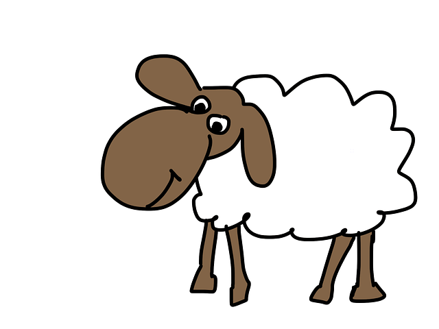 Sheep, Cartoon, Wool, Animal