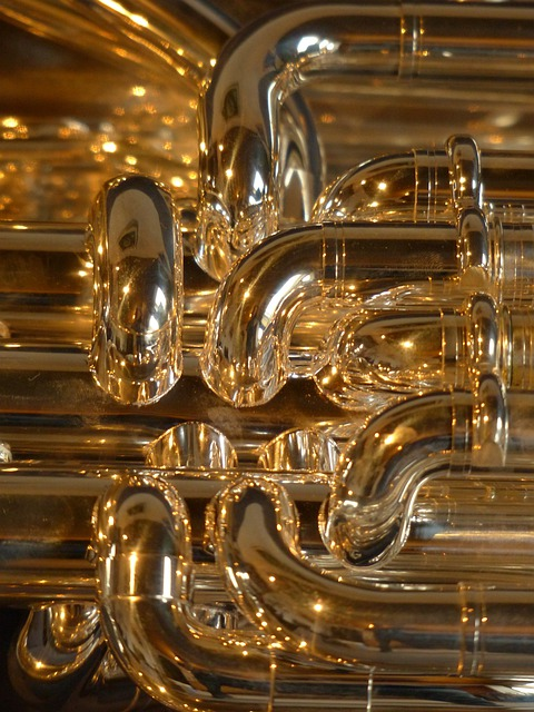 Euphonium, Brass Instrument, Instrument, Sheet, Music